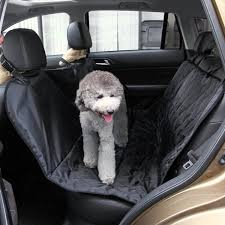 bnzhome pet seat cover waterproof backseat cover protector for car non slip dog seat cover seat belt mat with hammock secure rear seat belt for dog cat