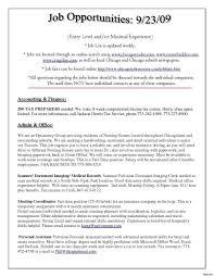 Job Objectives Resume Objectives For Management 90 Restaurant Management