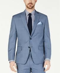 Light Blue Windowpane Suit 450 Michael Kors Classic Fit Airsoft Light Blue Windowpane Suit Jacket 44l