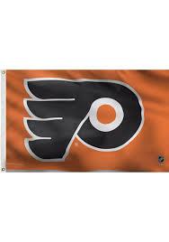 Flyers Flag Philadelphia Flyers 3x5 Orange Grommet Orange Silk Screen Grommet Flag
