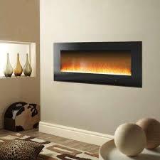 metropolitan 56 in wall mount electric fireplace
