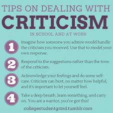 Quotes About Dealing With Criticism 40 Quotes New Criticism Quotes