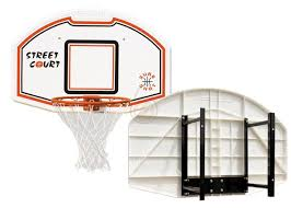 sure shot 506 model basketball backboard and fixed ring with wall bracket