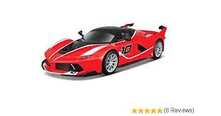 Amazoncom Bburago 124 Wb Ferrari Racing Ferrari Fxx K Toys