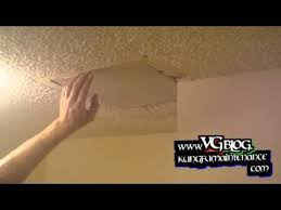 popcorn ceiling repairs patching