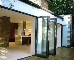 panoramic patio doors fancy folding glass patio doors and best bi fold patio doors ideas on home design