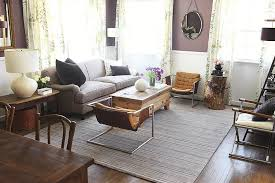 charming eclectic living room ideas. Living Rooms · ». Purple Wall Paint Charming Eclectic Room Ideas