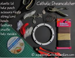 Dream Catcher Supplies List Catholic Dreamcatcher Feast of St Kateri Equipping Catholic 2