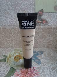 make up for ever full cover concealer in 4 flesh