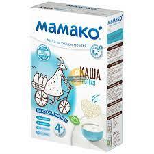 Bột ăn dặm Mamako với kiểu mạch và sữa dê 200g cho bé từ 4 tháng