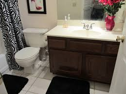 Small Picture Glamorous Small Bathroom Decorating Ideas On Tight Budget Small