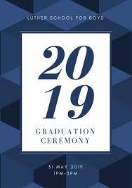 Graduation Cover Photo Customize 132 Graduation Program Templates Online Canva
