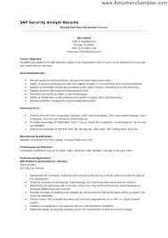 Resume Objective For Business Analyst Best of It Security Resume Resume Tutorial