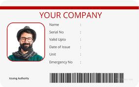 Free Ai Psd Doc Id Cds Card Eps Vector Template 40 Templates Blank –