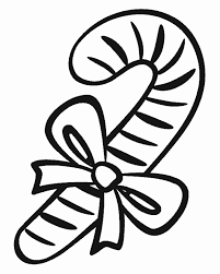 Printable Christmas Coloring Pages Candy Canes Candy Cane Story