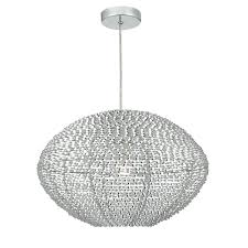 oisin decorative aluminium easy fit pendant lampshade ois6568