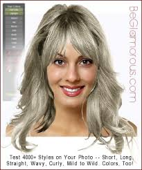 hairstyles for gray hair short um long