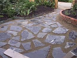 loose flagstone patio. Fresh Ideas Slate Patios Entracing Patio Designs Broken For Loose Flagstone