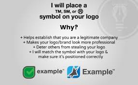 Tm Trademark Symbol Place A Copyright Or Trademark Symbol On Your Logo