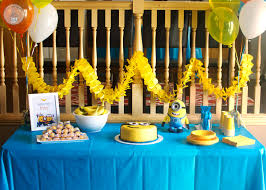 minion birthday party food and activities for a minion birthday party