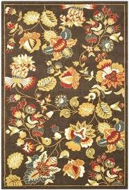 brown green fl rug rugs ireland