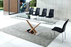 glass table dining set extendable glass table extendable glass table extendable glass table dining tables awesome