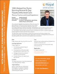 Trauma Ivy Dunn - 9th Annual Nursing Education Conference featuring Sheldon  Kennedy - Champlain Pathways to Better Care