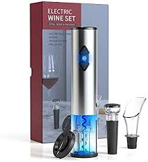 <b>CIRCLE JOY</b> Electric <b>Wine Bottle</b> Openers Set, Battery Operated ...