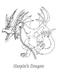 Yugioh Paradijs Kleurplaat Harpies Dragon