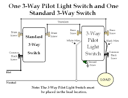 replacing a three way switches with a pilot light switch to leviton 3 way switch dimmer at Leviton 3 Way Wiring Diagram