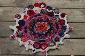 felt your sweaters make this rug paper piecing work recap felted woolen yarn rugs