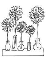 30 Kleurplaten Van Bloemen