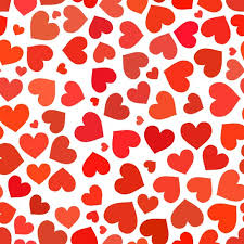 Red Heart Patterns Mesmerizing Red Heart On A White Pattern Graphic Patterns Creative Market