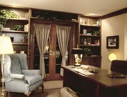 business office decor ideas. brilliant decor decorating themes  wonderful home office using rectangular dark cherry  wood desk with black leather swivel chair also white velvet and inside business decor ideas i