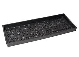 Decorative Boot Tray Awesome Amazon BirdRock Home Rubber Boot Tray 32 Inch Decorative