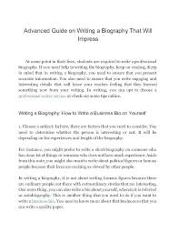 Essay Autobiography Example Layouts Autobiography Template