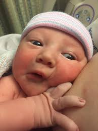 Ivan Grant came 8 days early!!! After 10 hours of labor and 45 mins of  pushing our little munchkin made his arrival! He's happy and healthy. And I  am completely in awe