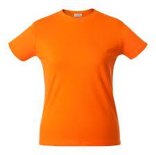 <b>Футболка женская HEAVY LADY</b> оранжевая, размер XS оптом ...