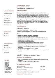 Housekeeping Supervisor Resume Template Resume Builder