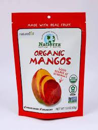 <b>Organic Freeze</b>-<b>Dried Mangos</b> – Natierra