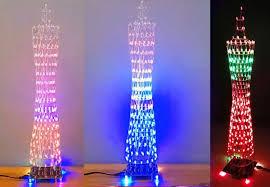 diy kit colorful led tower display 12320 1