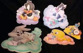 baby nursery baby looney tunes nursery decor bros 5 wall hanging art plaques accessories