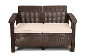 Amazon Keter Corfu Love Seat All Weather Outdoor Patio