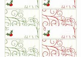 christmas placecard templates tent place card template 6 per sheet or free printable place cards
