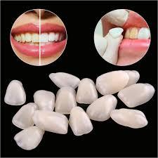 diy teeth whitening slime 70pcs lot dental teeth veneers ultra thin whitening resin anterior