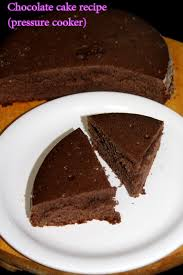 chocolate cake recipe in pressure cooker or chocolate cake without oven