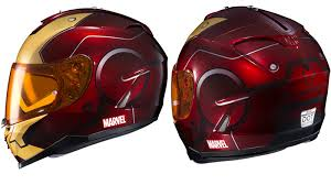 hjc saves the day with marvel superhero motorcycle helmets