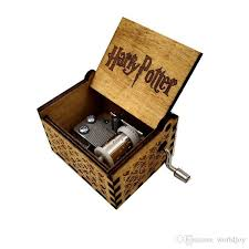 2019 dropshipping hand crank harry potter engraved wooden box play best toy gift for fans unique gift from worldjoy 11 56 dhgate
