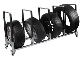 such type of tyre rack has especially made for moving and storing tyres