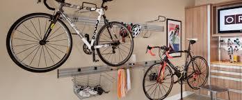 garage bike racks slat wall panels